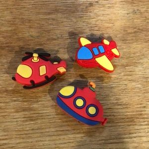 Snap on croc charms